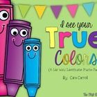 Hands on color word identification practice packet!  11 colors...includes games, word hunts, graphic organizers, emergent readers, and so much more!