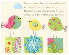 Nursery print, Baby Room Decor, Nursery Art, baby elephant, nursery art, match to daisy bedding by pottery barn , Kumari Garden. $17.00, via Etsy.