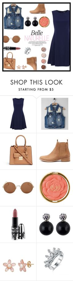 """""""LaliiBieb"""" by laliibieb ❤ liked on Polyvore featuring beauty, Tommy Hilfiger, RWH by Rewash, Michael Kors, Mollini, Sunday Somewhere, Terre Mère, Milani and MAC Cosmetics"""