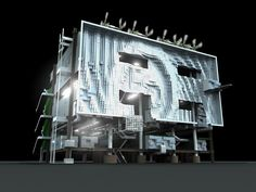 007 Building Skin, Design Projects, Architecture Design, Architecture Layout, Architecture