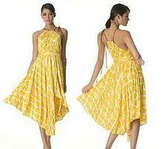 Flutter skirt dress