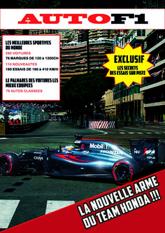 Voici la couverture de magazine