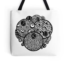 Going Bowling Zentangle - See Description Notes Re Colour Options. This design is available on a variety of items on my Redbubble site at http://www.redbubble.com/people/heatherian/works/13653053-going-bowling-zentangle-see-description-notes-re-colour-options.