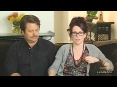 Megan Mullally & Nick Offerman-- they are the cute.