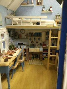 Ananda Miniatures--the loft is inspiring...