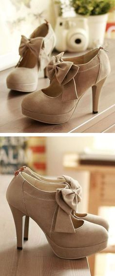 cUte Bow Pumps ❤︎