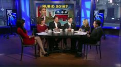 Perino to Rubio:  Will You Announce a 2016 Pres Run on April 13?  This was on The Five on 03/30/2015....have to say I was pretty impressed.  They drilled him on Foreign Affairs extensively, and he really knows his stuff.  His demeanor -- not out to impress like someone we know.
