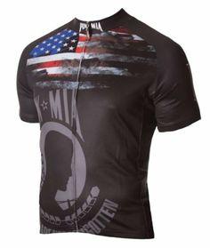 Amazon.com  POW-MIA Cycling Jersey by 83 Sportswear Men s Short Sleeve  5dad828ae