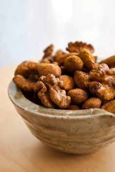 Scandi Home: Activated, spiced nuts