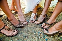 cute picture idea for everyone with different shoes! :) with the girls PROM PICTURES