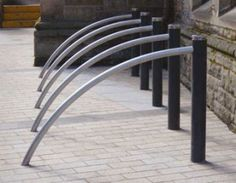 Bicycle Stand, Bike Rack, Street Furniture, Garden Bridge, Stainless Steel, Outdoor Structures, Landscape, Image, Design