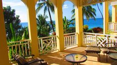 Saint Patrick Apartment Rental: Chaconia, A Luxurious Beach Front Colonial Style Apartment | HomeAway