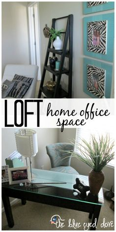 The perfect small space for a home office! theblueeyeddove.com