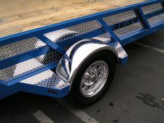 Bear Trailers Inc offers Custom Pull Behind Trailer in CA, Custom Utility Trailers, Trailer Repair and More. Tilt Trailer, Trailer Deck, Car Hauler Trailer, Trailer Plans, Trailer Build, Utility Trailer Accessories, Atv Accessories, Pull Behind Trailer, 85 Chevy Truck