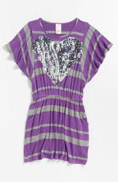 Kiddo Stripe Dress (Little Girls & Big Girls) | Nordstrom