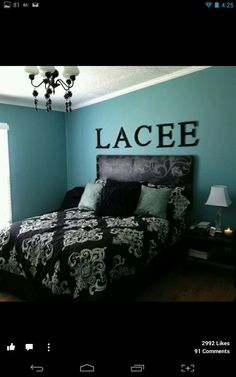 Blue Bedroom Turquoise Colors Teal Bedrooms Master