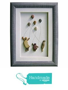 Unique pebble art home decor, New home or Christmas gift, Kids and balloons wall art home decoration, Kids room decoration, Grandma gift from Pebble Art Dream http://www.amazon.com/dp/B016EOX1S8/ref=hnd_sw_r_pi_dp_N.ugwb09P3534 #handmadeatamazon