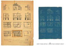GERRIT THOMAS RIETVELD   Emmanuelle et Laurent Beaudouin  - Architectes