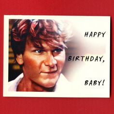 DIRTY DANCING BIRTHDAY  Happy Birthday Baby  by seasandpeas, $4.00