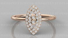 Natural Round Diamond Marquise Shape Wedding Ring, Art Deco Bezel Set Engagement Ring, Diamond Minimalist Ring, 14CT Real Gold Ring by UmbrellaJewels on Etsy Gold Wedding Rings, Diamond Wedding Bands, Gold Diamond Rings, Gold Rings, Amazing Diamond Rings, Round Diamonds, Natural Diamonds, Round Cut Diamond, Heart Engagement Rings