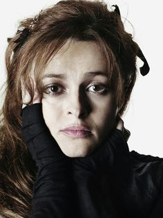 Helena Bonham Carter photographed by Rankin for Oxfam International, 2007.