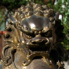 fudog | Gilded Bronze Quianlong Fu Dog | Flickr - Photo Sharing!
