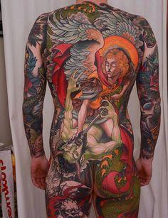 Tattoed Girls, Inked Girls, Wolf Tattoos, Girl Tattoos, Trendy Tattoos, Small Tattoos, Full Body Tattoo, Dark Tattoo, Inked Men