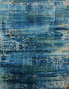 """Saatchi Art Artist Koen Lybaert; Painting, """"abstract 1097 [Palau]"""" - Featured on 7 Tips to Creating an Inspired Entryway - http://canvas.saatchiart.com/decor/inspiration/7-tips-to-create-an-inspired-entryway"""