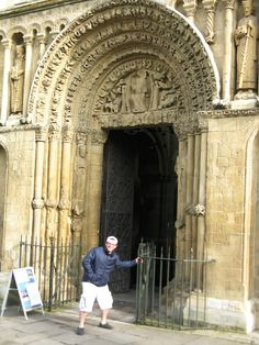 Rochester Cathedral (West Door) -- Rochester, Kent, England. Taken by Stephen Bowen 3.14.2012.