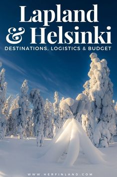 Lapland Holidays: A Local's Guide to Help Plan Your Dream Trip! How to plan an awesome Lapland holiday? Here are the best tips by a local, also for including a Helsinki visit to your Lapland trip! Finland Destinations, Travel Destinations, Winter Destinations, Travel Couple, Family Travel, Family Trips, Helsinki, Lapland Holidays, Trips To Lapland