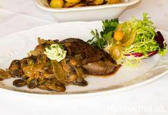 Maďarská roštenka - Rostélyos magyarosan Steak, Beef, Chicken, Food, Meat, Essen, Steaks, Meals, Yemek