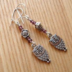Owl Charm Earrings £4.00