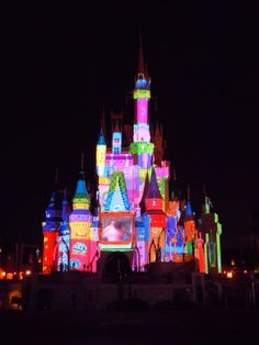 """Magic, Memories, and You!"" show premieres projected onto Cinderella Castle at Walt Disney World's Magic KIngdom"