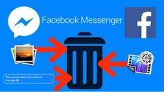 Como Borrar mensajes, fotos y videos compartidos en Facebook Messenger desde la versión Web o desde la app de iPhone o Android. #Facebook #Messenger #iOS #Android #iPhone downloadsource.es