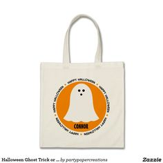 Halloween Ghost Trick or Treat Bag