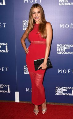 Sofia Vergara Red dress