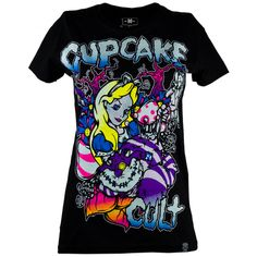 Cupcake Cult Alice T-Shirt £17.99