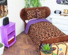 Doll Bedding for Barbie Fashion Royalty Moxie Bratz by FroggyStuff, $9.99