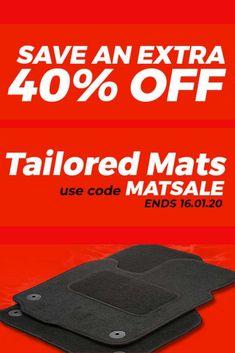 Tailored Mat #Sale - Limited offer! #discounts #rt #offers #VoucherCodes #cartips