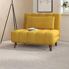 Sleeper Chair, Futon Chair, Chaise Sofa, Sofa Bed, Convertible, Velvet Lounge, Wayfair Living Room Chairs, Dining Room, Swivel Barrel Chair