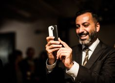 Mazdak Rassi of Milk, co-founder of Made Fashion Week. Photo taken with an HTC One. #NYFW #HTCmade