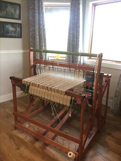 What I wouldn't give...... Union Loom Works No 36 WEAVING FLOOR LOOM
