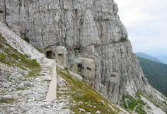 Un tratto del Sentiero della Pace, in Trentino. #sentiero #pace