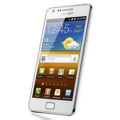Samsung Galaxy S II SA-I9100 Unlocked Phone with 8 MP Camera and GPS support - International Version - Ceramic White