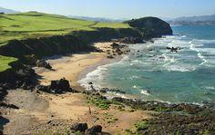 Playa de Beciella #Caravia #playa #beach #Asturias #ParaísoNatural #NaturalParadise #Spain