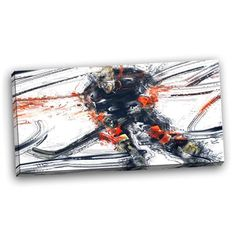 Ebern Designs 'Hockey in Motion' Graphic Art on Wrapped Canvas Canvas Artwork, Canvas Art Prints, Canvas Fabric, Canvas Wall Art, Cotton Canvas, Quotes Girlfriend, Epson Ink, Beautiful Paintings, Motion Graphics
