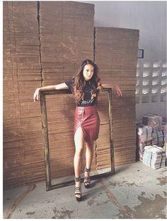 Sarah Lahbati Sarah Lahbati, Filipina, Celebrity Style, Bae, Shirt Dress, Celebrities, Shirts, Dresses, Fashion