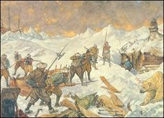 Willem Barentsz en zijn mannen zijn vast komen te zitten in het ijs en moeten overleven op Nova Zembla tot het ijs weer gaat smelten