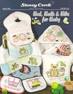 Bed, Bath & Bibs for Baby booklet