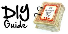 VALENTINES PaperVine: 52 Reasons I Love You Cards Tutorial